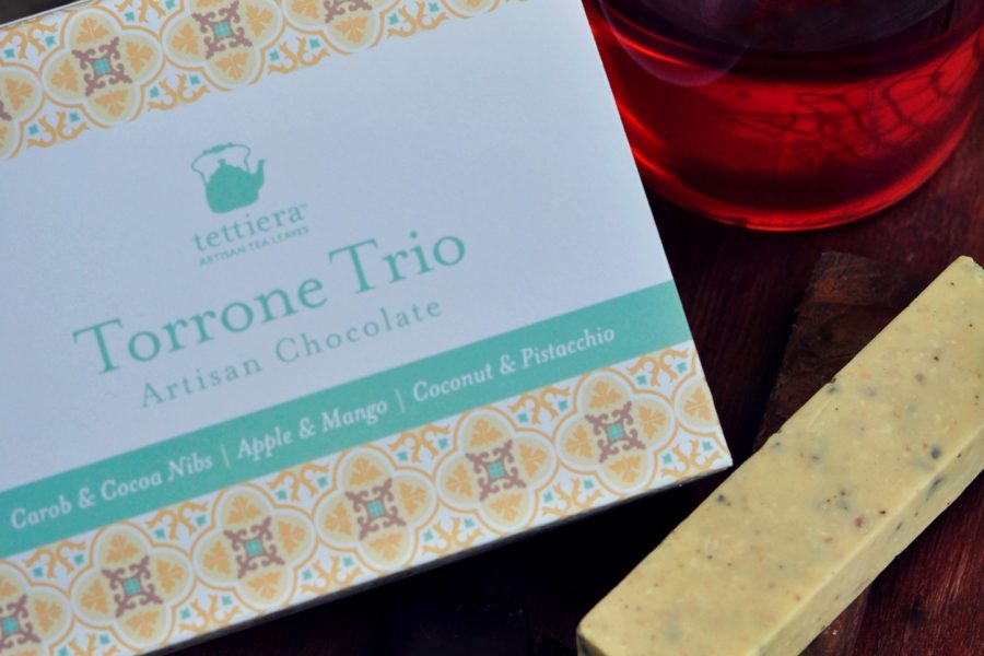 Tettiera® launches a Torrone Trio Artisan Chocolate pack created purposely for tea pairing.