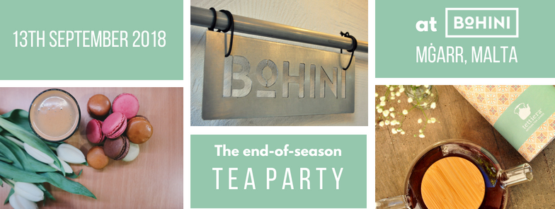 Tickets for: End-of-season Tea Tasting Party at Bohini