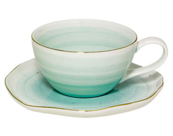 Mint teacup