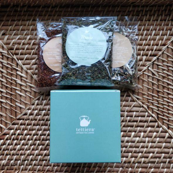 tea retreat box