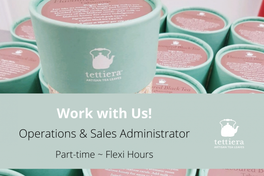 Work with Us! Vacancy: Operations & Sales Administrator